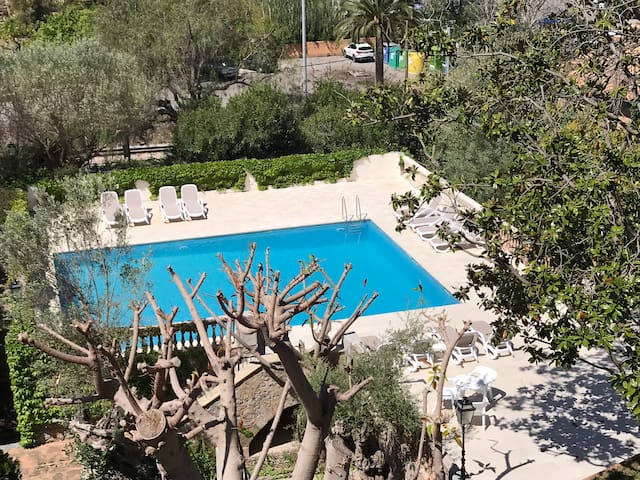 Nice flat at 200 m to the sea front in Port Sóller