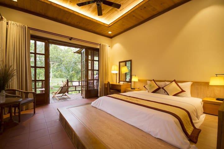 Room in green resort