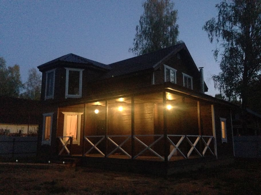 Дом на 10 сотках