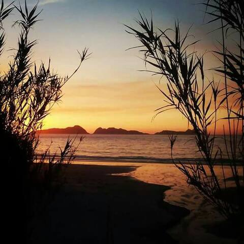 Habitación Nigran playa surf patos - Nigran
