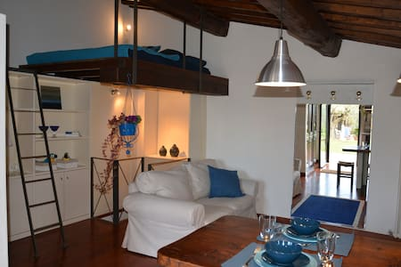 ROMANTIC OLIVER LOFT - Bagno a Ripoli - ห้องเพดาน