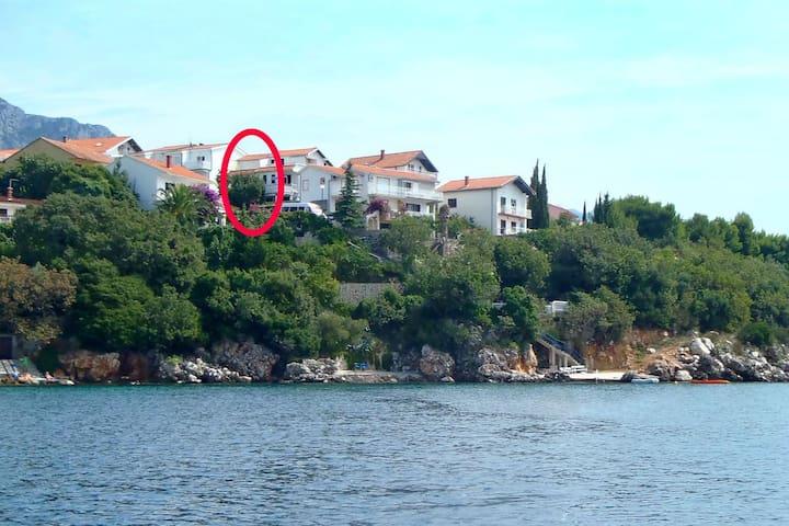 Studio flat near beach Podaca, Makarska (AS-2633-b)