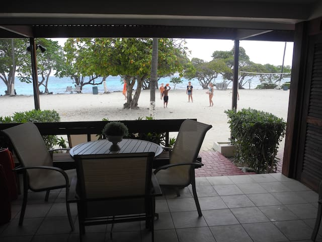 Beachfront, full renovated condo/SapphireBeach - East End - Wohnung