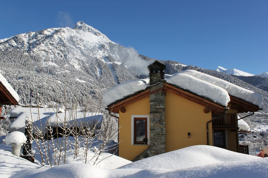 Inverno all'Abreny