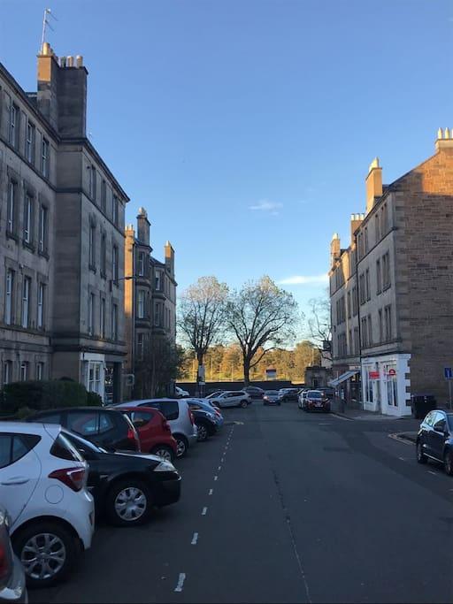 Dean Park Street, Stockbridge