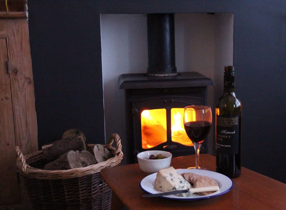 Enjoy cosy, warm nights in front of the fire
