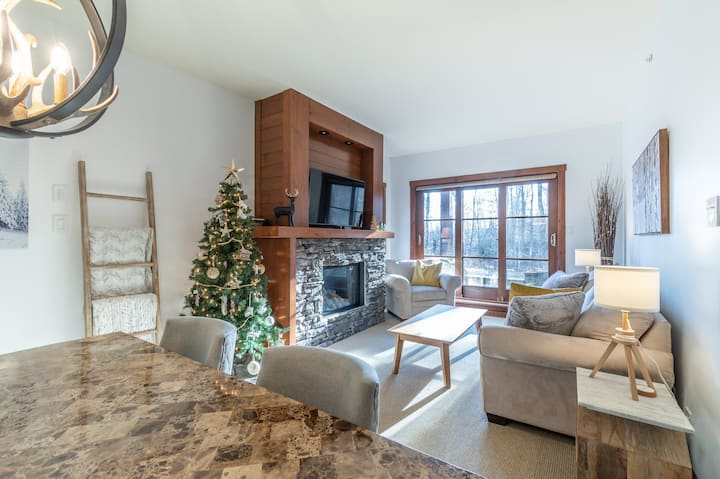 Private & Clean Luxury, Ski-in/out with Kitchen