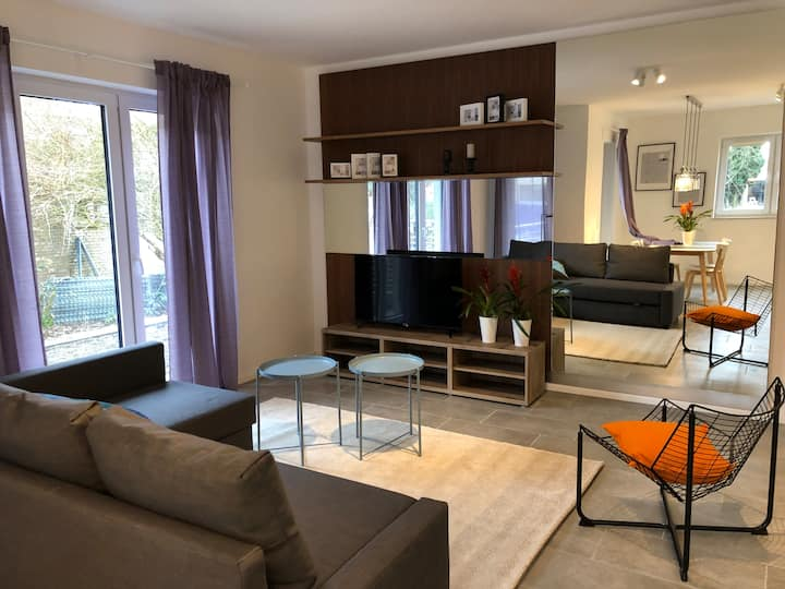 #1 City garden apartment 2+2 persons (2 ROOMS!)