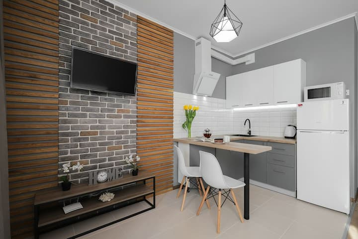 Дизайнерская квартира в Оболонском районе.