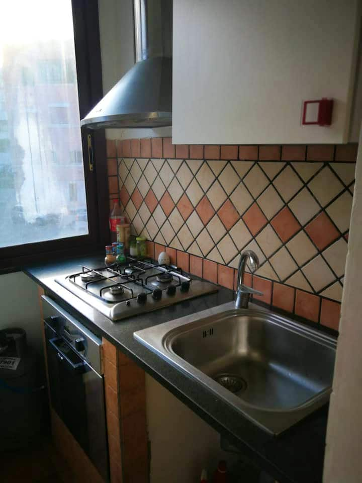 Apartment with one bedroom in Messina, with wonderful city view and balcony
