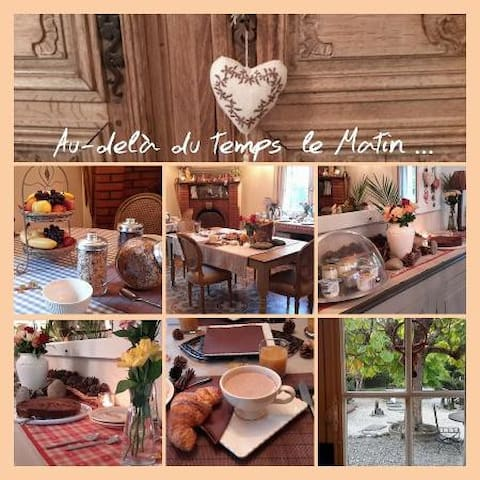 B & B - Suite L'Estive for 2 to 4 pers - Saint-Mamet - Bed & Breakfast