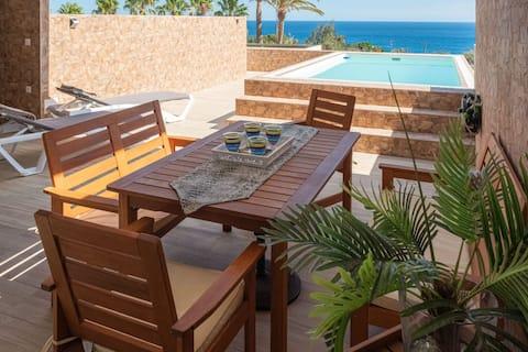Villa del Mar & Pool Esquinzo Jandia Fuerteventura