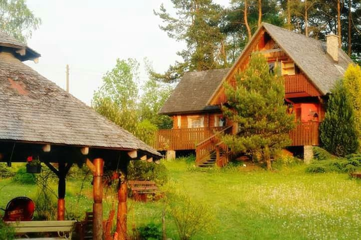 Przytulny  pokoik na Kaszubach❤ - Nowa Wieś Przywidzka - Huis