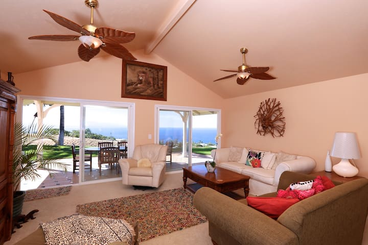 Private master suite with pool and ocean views - Waimea - Casa