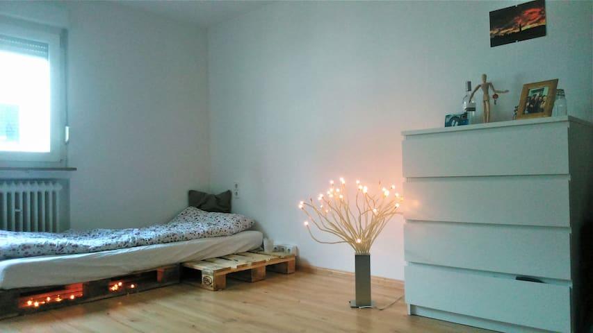 Kleines aber feines Zimmer, stadtnah, im Grünen