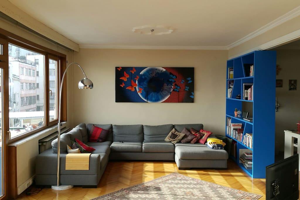 Gorgeous bosphorus view comfy room appartamenti in - Il divano di istanbul ...