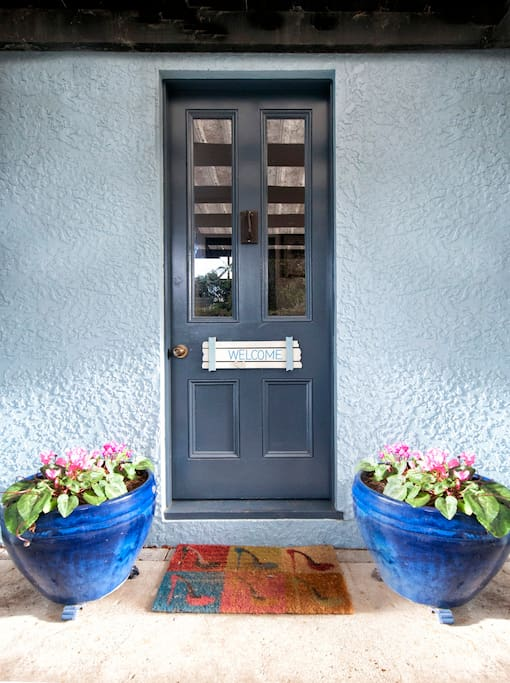 Your own private entrance to your accommodation.