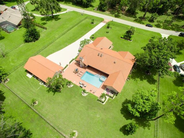 Aerial View Yard