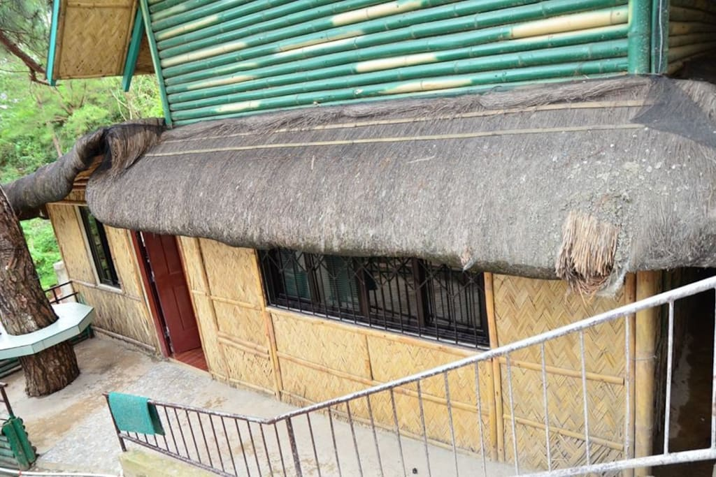 Bahay Kubo Inspired with reliable internet access.
