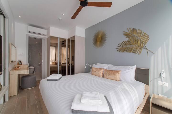 1 сп квартира в 400 м от пляжа Бангтао