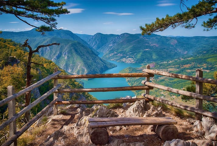 Dren - near the famous viewpoint Banjska stena
