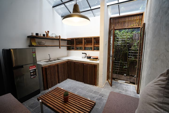 Industrial Style⭐️2-Bedroom Apartment⭐️Han Market