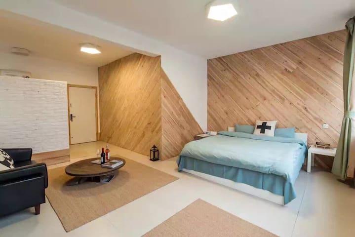 整层独享大床房 - Xiamen - Flat