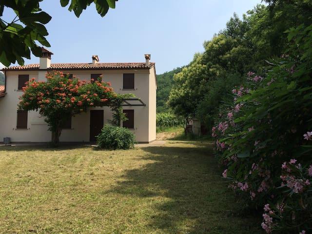 Splendido rustico sul Monte Gemola - Cornoleda - House