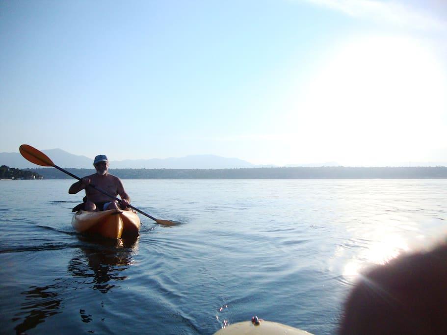 Muy cerca del Lago de Tequesquitengo. Kayaks disponibles.