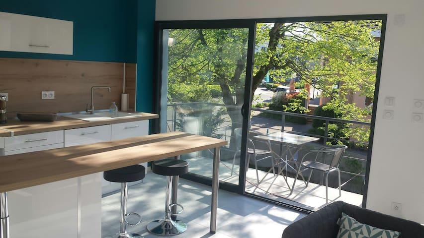 Beau F2 avec balcon bien situé