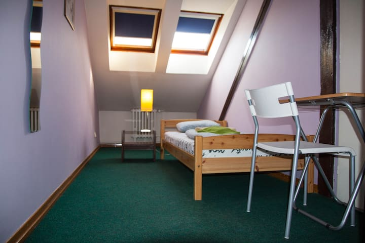 Privat room , 5 min walk Wenceslas sq. N51 - Prag - Yatakhane