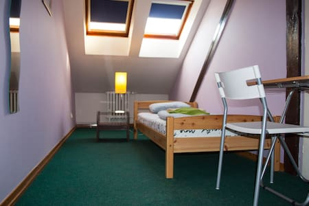 Privat room , 5 min walk Wenceslas sq. N51 - Prag - Studentrum