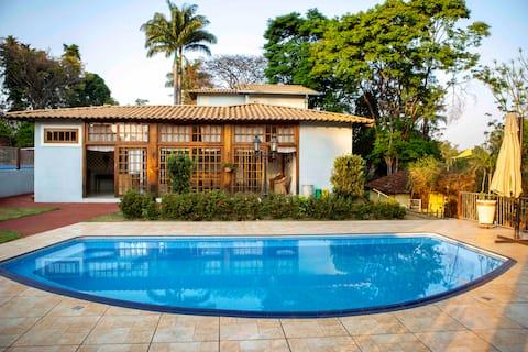 Casa de Luxo no Campo - Alto Padrão -