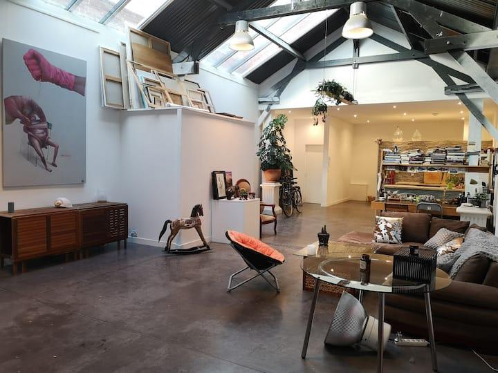 Magnifique loft moderne et arty