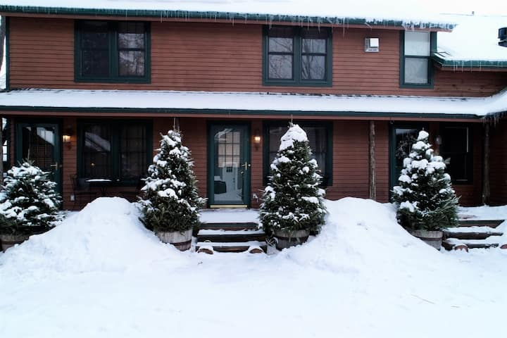 Pine Lodge #8-Cozy Adirondack Unit-walk to Main