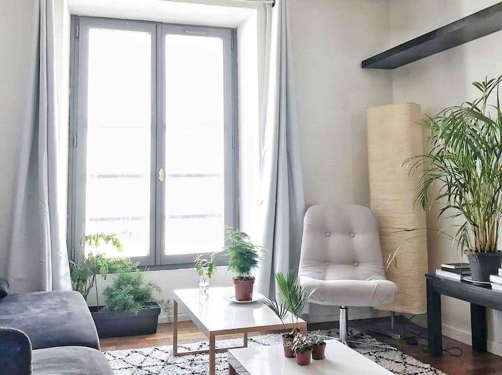 Cosy Parisian appartement next to Montmartre