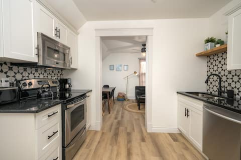 Stylish 2 Bedroom Unit in a Revived Century Home