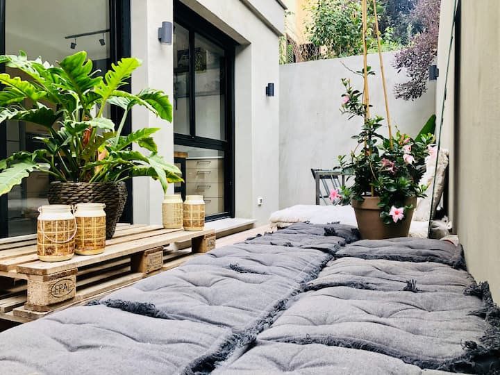 Private New Oasis in the Heart of Tel Aviv