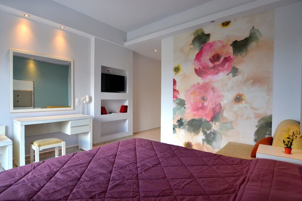 Private double or single room with bathroom