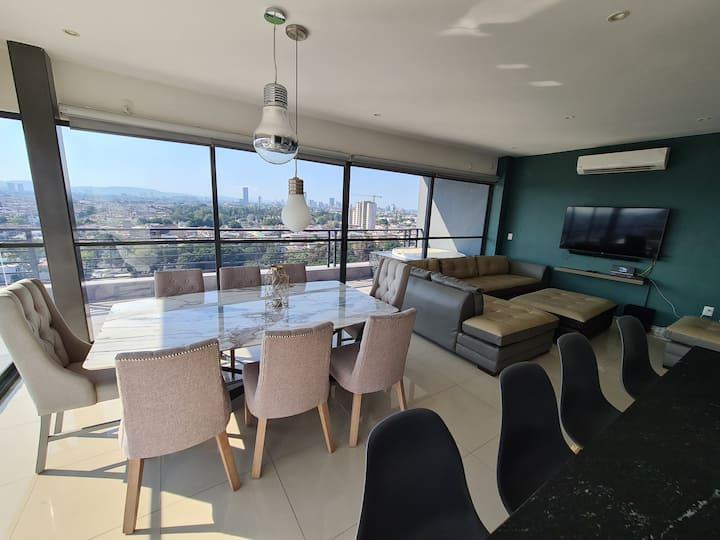 Espectacular penthouse con increíbles vistas