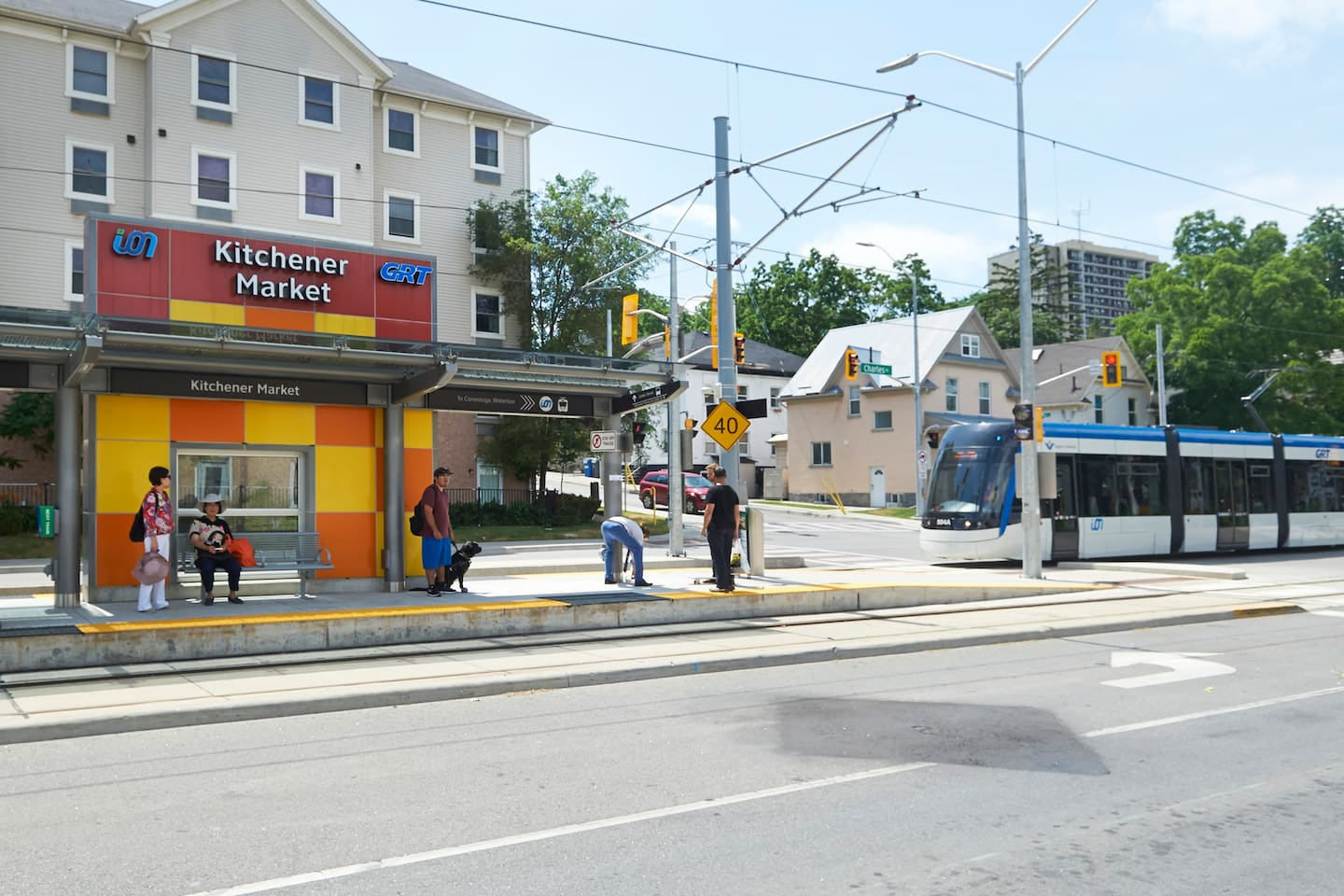Fast and Frequent ION light rail transit is at your doorstep.