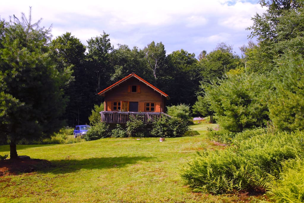 Secluded Cabin Catskill Park On 20 Acres Case In Affitto