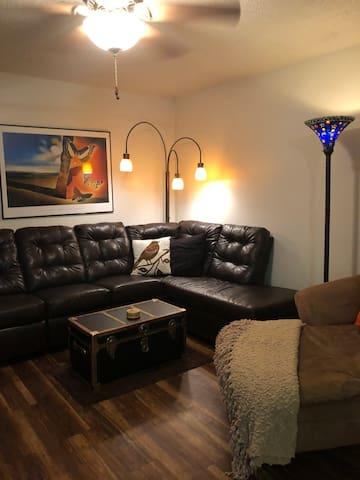 Me Casa your casa.  Entire apt.one bedroom/bath