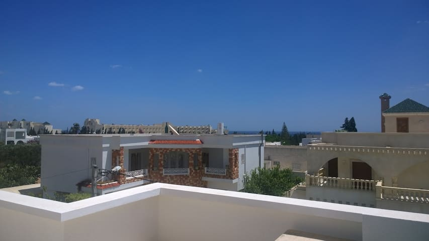 50m2 Cozy flat with a sea view located in Hammamet - Nabeul‎ - Huoneisto