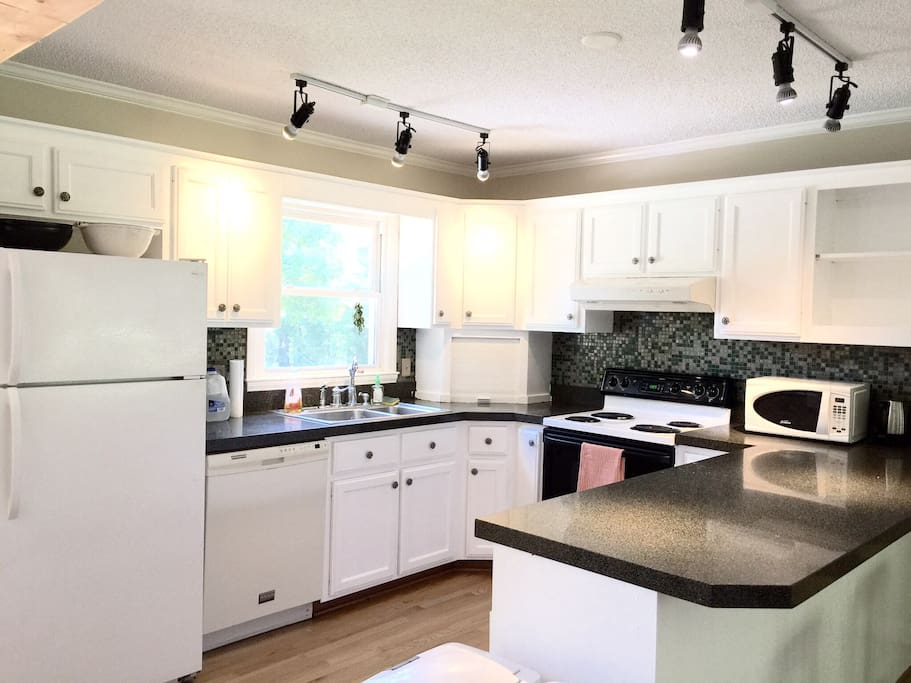 Kitchen has everything you'll need!