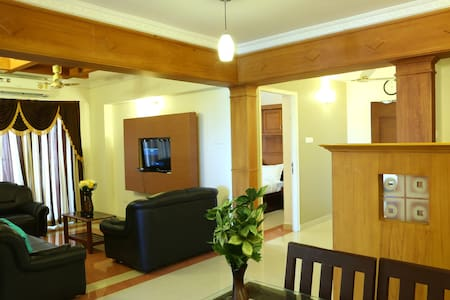 Two Bed Room Fully Furnished Apartments - Nedumbassery