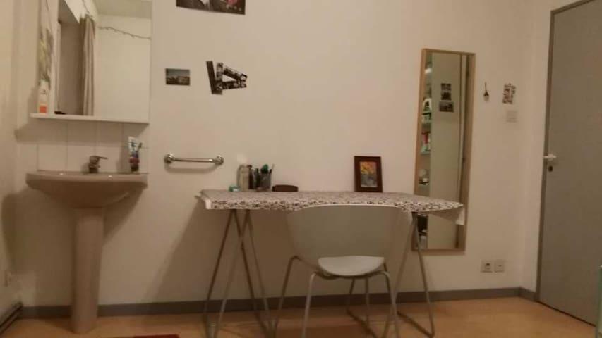 Chambre basique dans un colocation étudiante - Strasbourg - Lägenhet