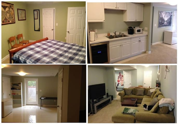 Private apartment in Chevy Chase