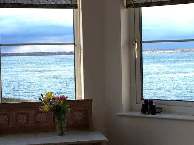 View from double Sea-side en-suite room