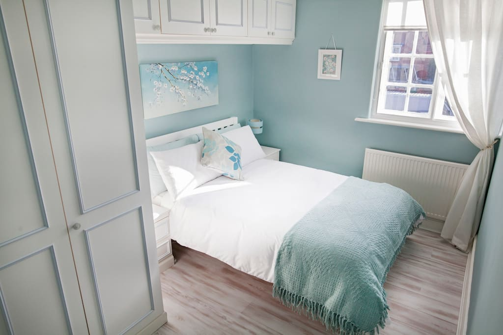 Comfy double bed in second bedroom